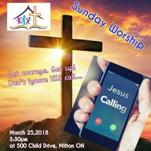 RECAP – Sunday 2018-03-25 Worship Service