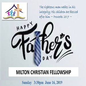 Sunday 2019-06-16 Worship Service