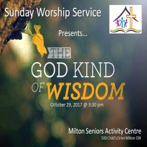 RECAP – Sunday 2017-10-29 Worship Service
