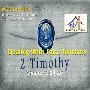 RECAP – Wednesday 2018-01-17 Bible Study
