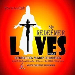 RECAP – Sunday 2018-04-01 Worship Service