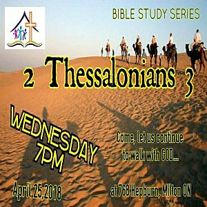 RECAP – Wednesday 2015-04-25 Bible Study