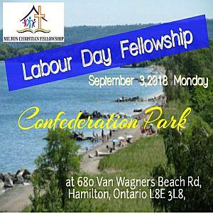 RECAP – Monday 2018-09-03 Labor Day Fellowship