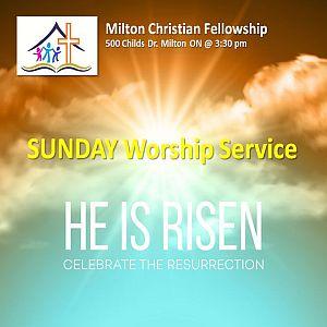 RECAP – Sunday 2019-04-21 Worship Service