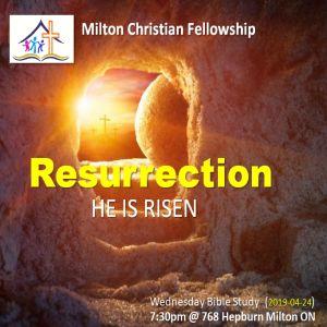RECAP – Wednesday 2019-04-24 Bible Study