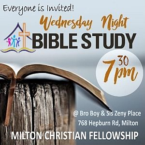 RECAP – Wednesday 2019-05-08 Bible Study