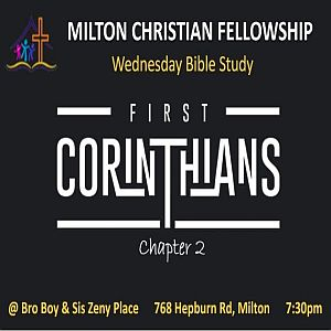 RECAP – Wednesday 2019-05-15 Bible Study