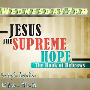 RECAP – Wednesday 2017-05-31 Bible Study